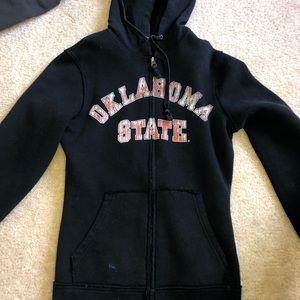 black oklahoma state jacket